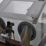 樹脂切削加工.com 表面処理(ブラスト)設備3
